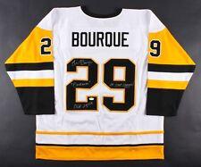 Phil Bourque Signed Pittsburgh Penguins Jersey (Beckett COA) 09422583d