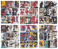 NHL Hockey Player Lots - Choose From List - Inserts RCs (10-20 Cards) LOOK