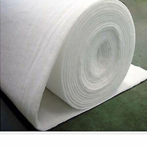 """Polyester Wadding Batting Upholstery Quilting 60"""" Wide 8OZ 6OZ 4Oz 2Oz"""