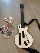 Guitare Gibson + Jeu Guitar Hero III Legends Of Rock Complet Nintendo Wii