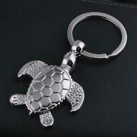 Creative Metal Turtle Key Chain Ring Keychain Keyfob Pendant-Gift K4D5 A0N3