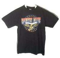 Vintage 80s 90s Country Music Branson USA Graphic Single Stitch Shirt SZ Large