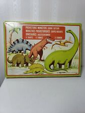 Fox Run Craftsmen Dinosaur Cookie Cutters Set Of 6 T-Rex Stegosaurus Vtg 1981