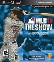 Mlb 10: The Show  - Sony Playstation 3 Game