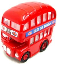 Pull Back Bus London Bus Red Bus London Red Bus Toy Bus Mini Double Decker Bus