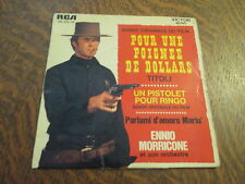 45 tours ennio morricone et son orchestre bande originale du film pour une poign