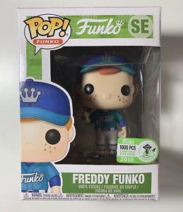 Funko Pop Funko #SE Freddy Funko (BaseBall) 1000 PCS ECCC Limited Edition 2018