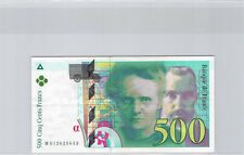 France 500 Francs Pierre et Marie Curie 1994 M012629643 Pick 160a