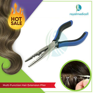 New Classic Multi Function Plier Hair Extension Tool Micro Rings Remover Pliers