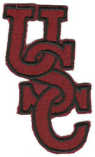 """South Carolina Gamecocks Ncaa College Vintage 3.25"""" Interlocked Letters Patch"""