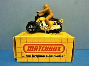 MATCHBOX HONDARORA (MOTORCYCLE & RIDER) #18 01-00, ORIG. COLLECTIBLES, 1983 MFG