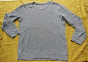 Old Navy Top - Long Sleeve - V-Neck Gray - Size X-Large