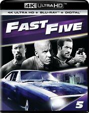 Fast Five (5)(4K Ultra HD)(UHD)(DTS:X)
