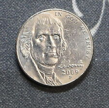 2009-P Jefferson Nickel (Circulated) Free Shipping