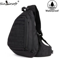 Tactical Backpack Sports Nylon Wading Chest Pack Sling Single Shoulder Military