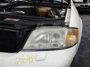 Driver Left Headlight Halogen Fits 98-01 AUDI A6 182880