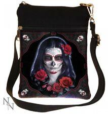 Nemesis Now - Sugar Skull Shoulder Bag, James Ryman, Day of Dead, Red Roses Gift