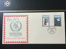"Fiji First Day Cover - FDC 1986 ""International Year of Peace"""