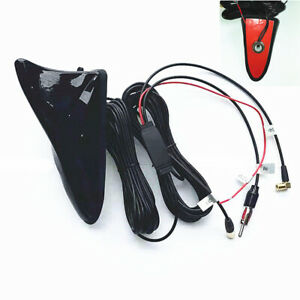 Car Truck Shark Fin Style Roof Mount Antenna Aerial Cover Radio AM/FM DAB GPS