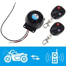 Universel Moto Alarme sécurité anti-vol Antivol+ 2 Télécommande 125dB Étanche