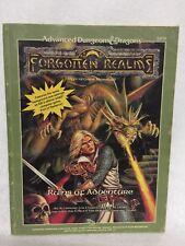 FRC1 RUINS OF ADVENTURE VGC! 9238 Forgotten Realms Dungeons Dragons D&D Module