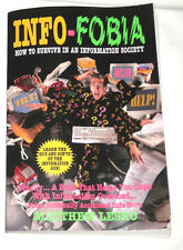 Info-Fobia : How to Survive in an Information Society by Matthew Lesko (1996, Pa