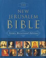 The New Jerusalem Bible: Saints Devotional Edition, , Acceptable Book