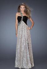 One Shoulder Beaded Formal Dresses for Women