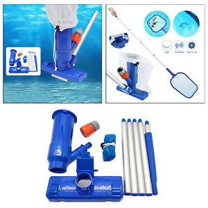 Pool Vacuum Head Kit Pool Jet Cleaner for Ground Swimming Pools Spa Hot Tub