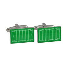 Americana Calcio Pece Gemelli nfl lega ball pelle di maiale verde