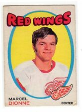 MARCEL DIONNE 1971-72 OPC #133 VG/EX Rookie RC O Pee Chee LA Kings Red Wings