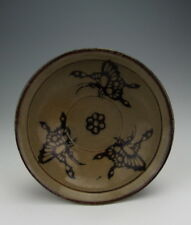 Nice Chinese Antique Jizhou Ware Porcelain Bowl with Butterfly