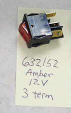 Carling Tech. 632152-1B-3N 12V lighted rocker