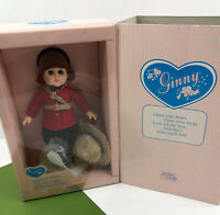 """Vintage 1988 Vogue Doll GINNY 71-3420 Joins the Mounties Unused 8"""" Poseable"""