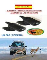 COCHES SEGURIDAD AVISADOR AUYENTADOR DE ANIMALES EN LA VÍA 2 ALARMAS ULTRASONICA