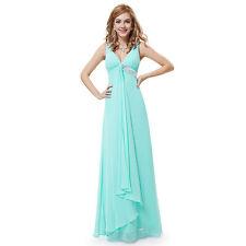 Full Length Empire line V Neck Regular Dresses for Women