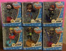 "NIP Mini DC Super Hero Girls Girl lot 3"" figures KATANA Bumblebee HARLEY QUINN B"