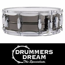 "Ludwig Black Beauty 14"" x 5"" Snare Drum with Smooth Shell Imperial Lugs"