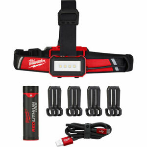 Milwaukee 2115-21 USB Rechargeable Low-Profile Headlamp