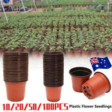 Plastic Plant Flower Pots Nursery Pot Garden Container & Plants Tags NEW