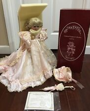 """Treasured Heirloom By Kais Carissa 18 1/2"""" All Porcelain Doll By Janis Berard"""