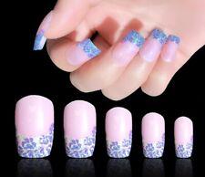 faux ongles rose et gris