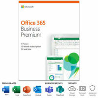 Microsoft Office 365 Business (1 user) - Premium for Windows and Mac (KLQ-00378)