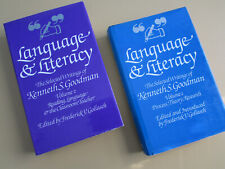 Kenneth Goodman, Language & Literacy books, Vol. 1 and 2, signed