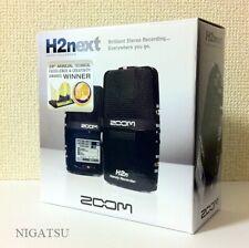 F/S NEW ZOOM handy recorder H2n Linear PCM Digital Audio Portable JAPAN