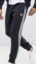 Adidas Originals CW1269 Beckenbauer Pants. Size M. Black White Stripes NEW.