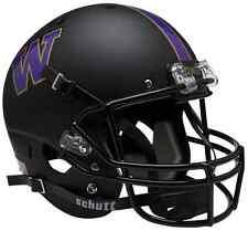 WASHINGTON HUSKIES Schutt AiR XP Full-Size REPLICA Football Helmet (MATTE BLACK)