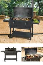 Smoke Hollow Charcoal Grill Cast Iron Front Door W/ Cool Touch Handles Outdoor