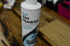 "Seachem Reef Zooplankton 8.5 oz (250 mL) ""Spilled Slightly"""