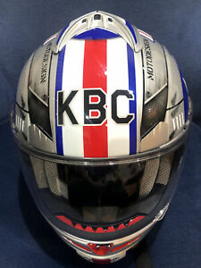KBC Force S Airborne Edition #1 Miss Behavin Motorcycle Helmet Size M RARE